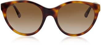 Gucci GG0419S Cat-Eye Acetate Frame Sunglasses