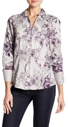 Foxcroft Lauren Printed Shirt