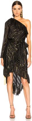 Philosophy di Lorenzo Serafini One Shoulder Asymmetrical Dress
