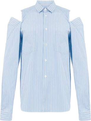 Comme des Garcons ripped detailed shirt