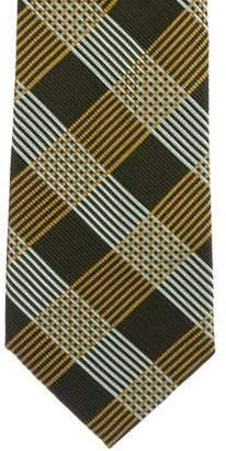 Burberry Check Silk Tie w/ Tags