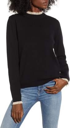 Endless Rose Ruffle Trim Sweater