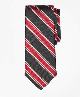 Brooks Brothers Bold Framed Split Stripe Tie