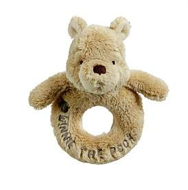 Disney Classic Winnie The Pooh Ring Rattle