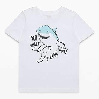 Esprit Boys' RL1063405 T - Shirt (White 010)