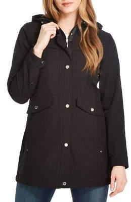Weatherproof Hooded Softshell Anorak Jacket