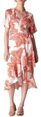 Whistles Palmyra Print Wrap Dress