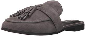 Kenneth Cole Reaction Women's Rain Down Flat Mule with Tassel Detail Suede