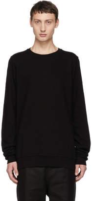 Rick Owens Black Bigarzzato Sweatshirt