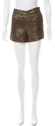 Diane von Furstenberg High-Rise Mini Shorts