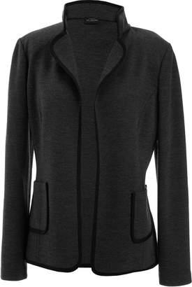 St. John Milano Knit Jacket with CDC Trim