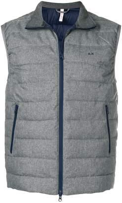 Sun 68 padded gilet jacket