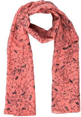 Julien David Lightweight Printed Scarf w/ Tags