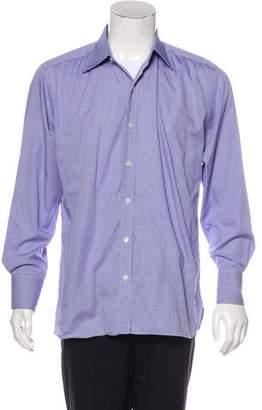 Tom Ford Mini Gingham Woven Shirt