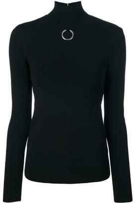 Stella McCartney silver hoop sweater