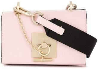 Calvin Klein small flap crossbody bag