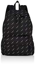 Balenciaga Men's Explorer Tech-Twill Backpack-Black