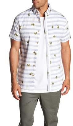 Sovereign Code Patterned Short Sleeve Regular Fit Shirt
