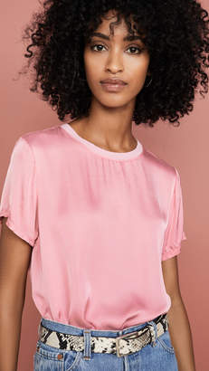 Nation Ltd. Marie Sateen Boxy Crop