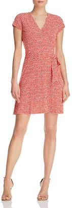 Leota Perfect Wrap Cap Sleeve Dress $118 thestylecure.com