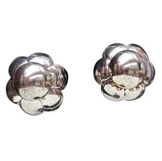 Pierre Cardin Vintage Silver Metal Earrings