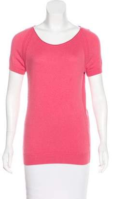 Loro Piana Cashmere Short Sleeve Top