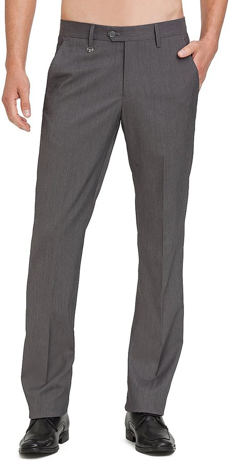 GUESS by Marciano Dark Grey Suit Pant – Slim Fit