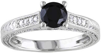Black Diamond MODERN BRIDE 1 1/6 CT. T.W. White & Color-Treated Engagement Ring