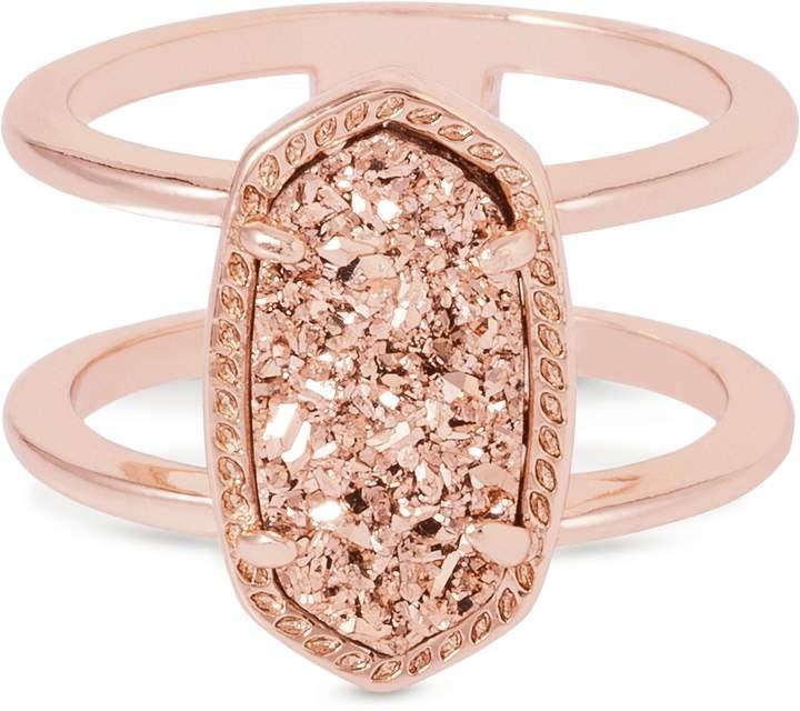 Kendra Scott Elyse Ring in Rose Gold