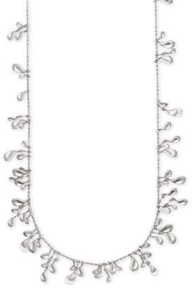 Kendra Scott Bella Rhodium Plated Brass Necklace