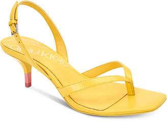 Calvin Klein Monty Dress Sandals Women Shoes