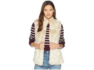 BB Dakota Fur What Faux Fur Vest