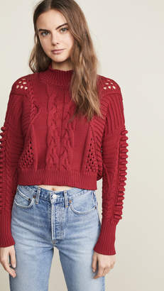 Cushnie Cable Knit Sweater