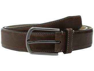 Steve Madden 35mm Vintage Crackle Belt Men's Belts