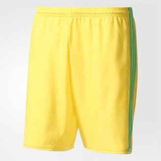 adidas Junior Condivo 16 Football Shorts Bright Yellow/Energy Green