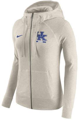 Nike Women Kentucky Wildcats Gym Vintage Full-Zip Hoodie