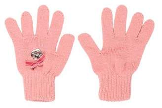 Miss Blumarine Girls' Knit Wool-Blend Mittens