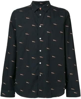 Paul Smith shark print shirt