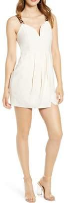 J.o.a. Cheetah Strap Dress