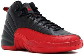 Nike Jordan 12 Retro BG GS Flu Game Black/Varsity Red 153265-002 US SizeY