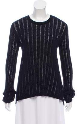 A.L.C. Lace-Up Long Sleeve Sweater