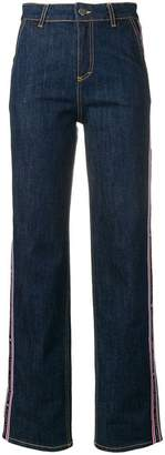 Frankie Morello high rise wide leg jeans