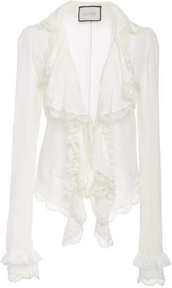 Alexis Phineas Ruffled Silk Top