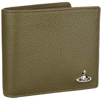 Vivienne Westwood Leather Orb Bifold Wallet