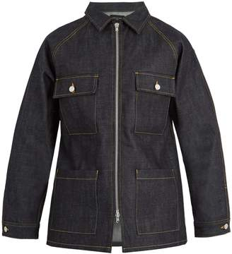 Fear Of God Oversized zip-through denim jacket