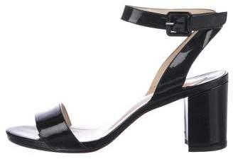 Christian Louboutin Wrap-Around Peep-Toe Sandals