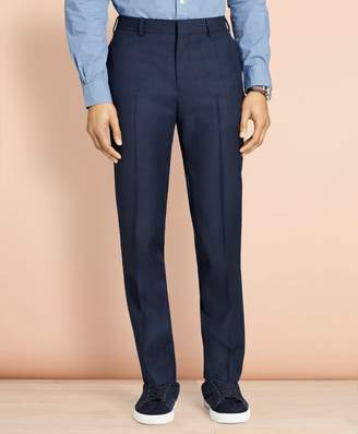 Brooks Brothers Windowpane Wool Trousers