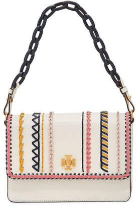 Tory Burch Kira Whip-Stitch Shoulder Bag