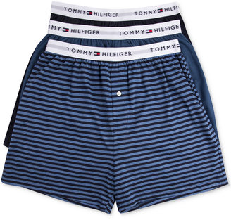 Tommy Hilfiger Men's Knit Boxer 3-Pack - 09TK012 $39.50 thestylecure.com