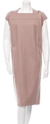 Marc Jacobs Wool Cap Sleeve Dress